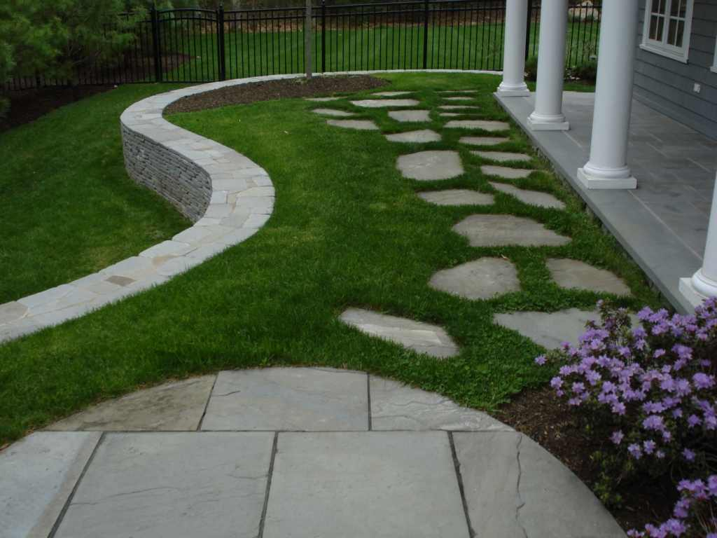 Brick stone hardscape designs hard landscaping for Hard landscaping